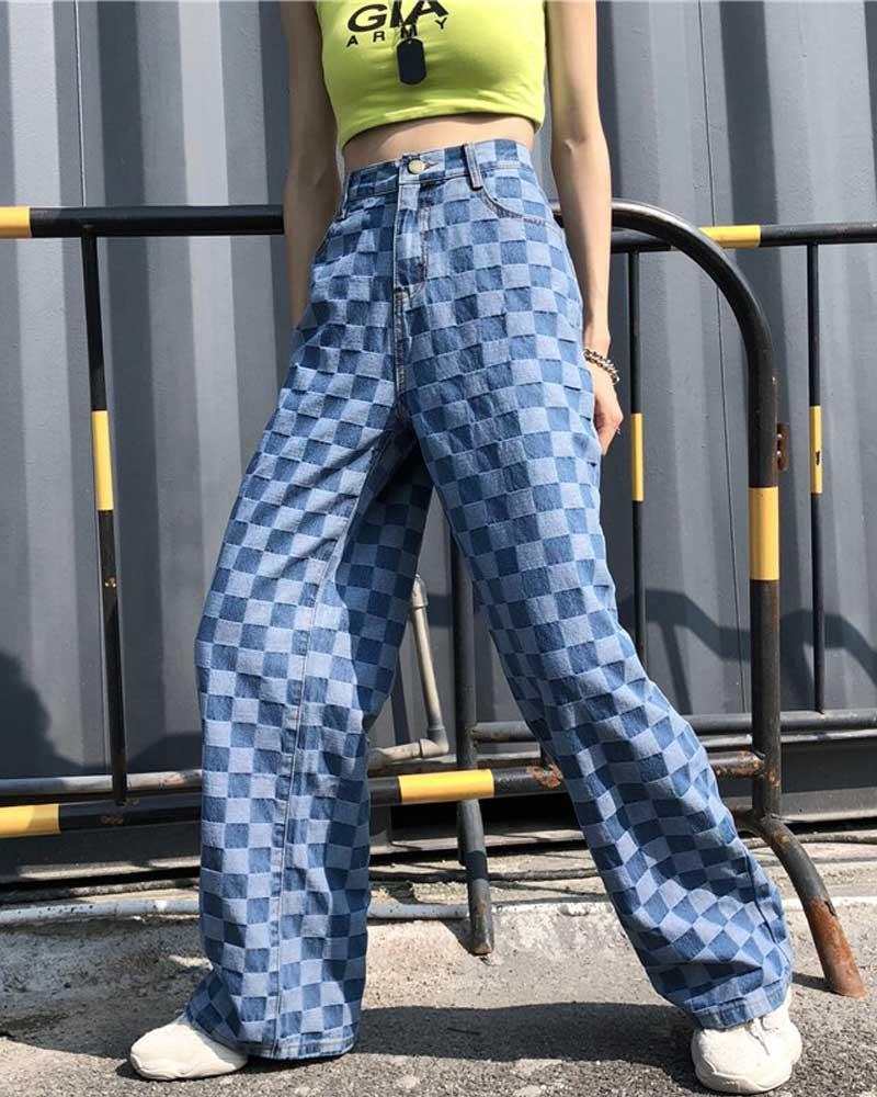 Big Size Trousers High Waist