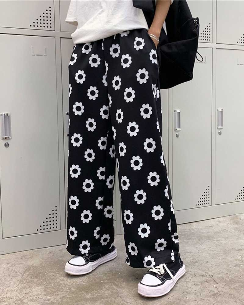 Fashion Harajuku Streetwear Korean