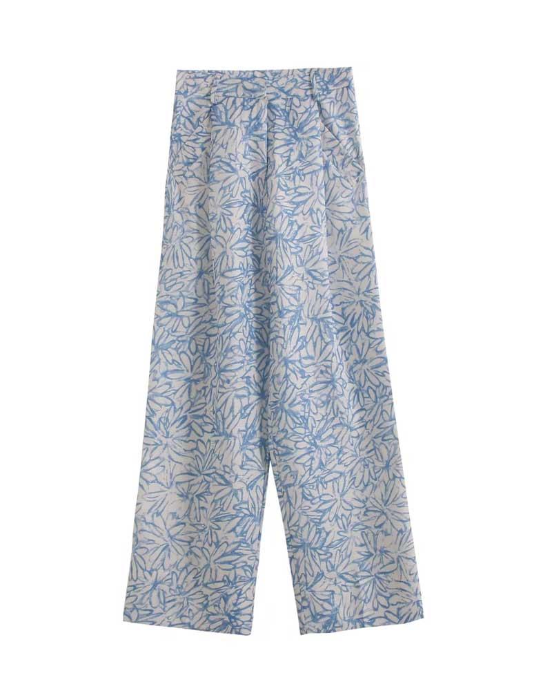 Harajuku Woman Trousers Elastics High Waist