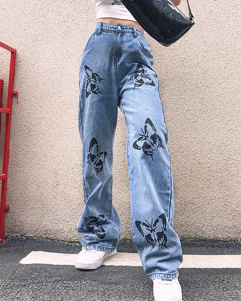 Jeans High Waist Woman