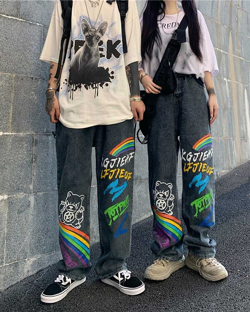 Summer Autumn Casual Jeans