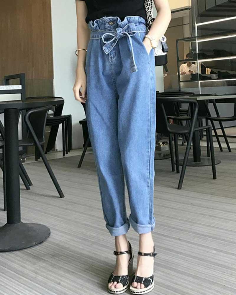 Women Jeans Woman Fashion