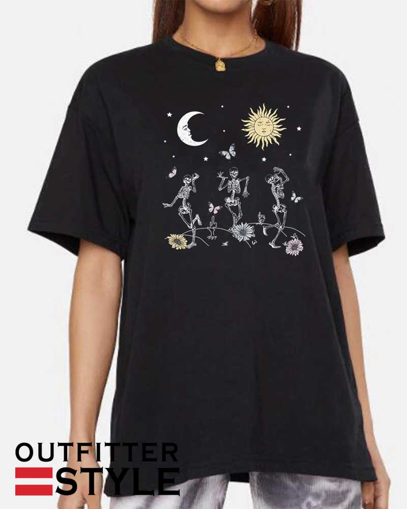 Fashion Aesthetic Grunge Gothic Tee Hipsters Celestial Shirt