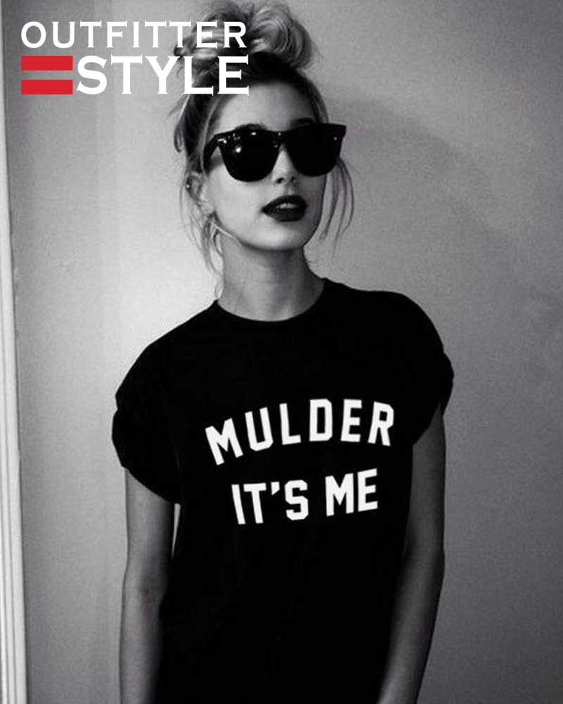 Funny Slogan Shirt The X-Files
