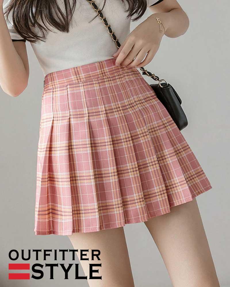 Korean Style Mini Skirts for Women