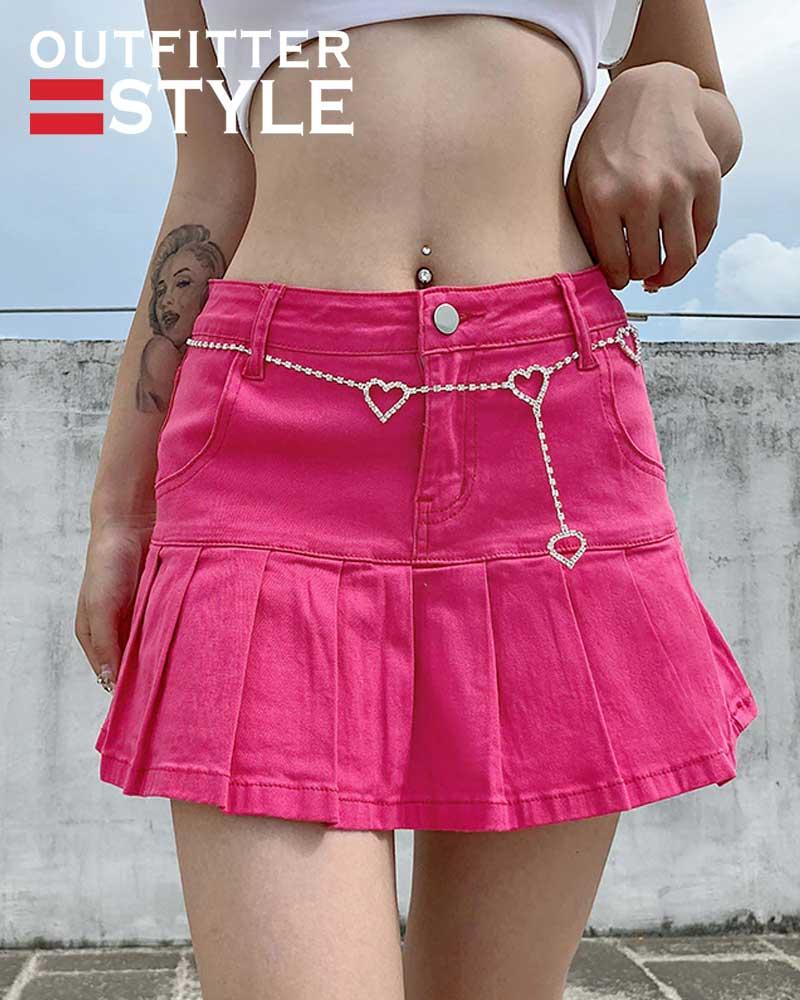 Ladies Summer High Waist Jeans