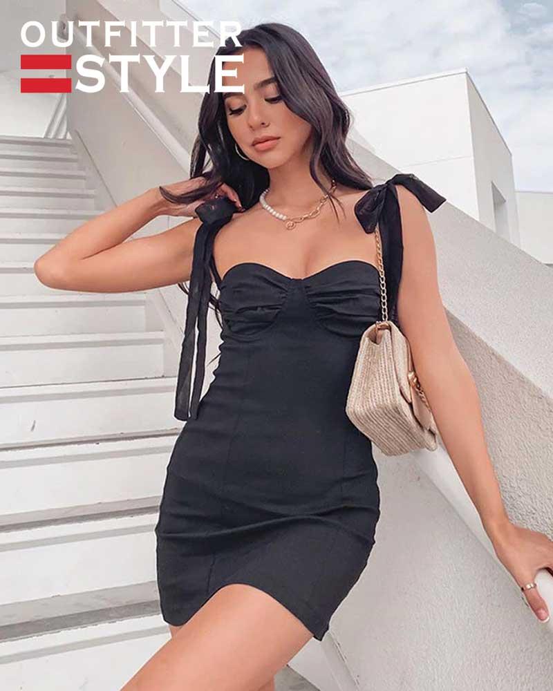 Mini Dress Backless Sexy Elegant Dress