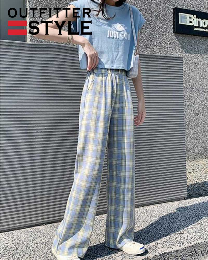 Oversize pants trousers for female