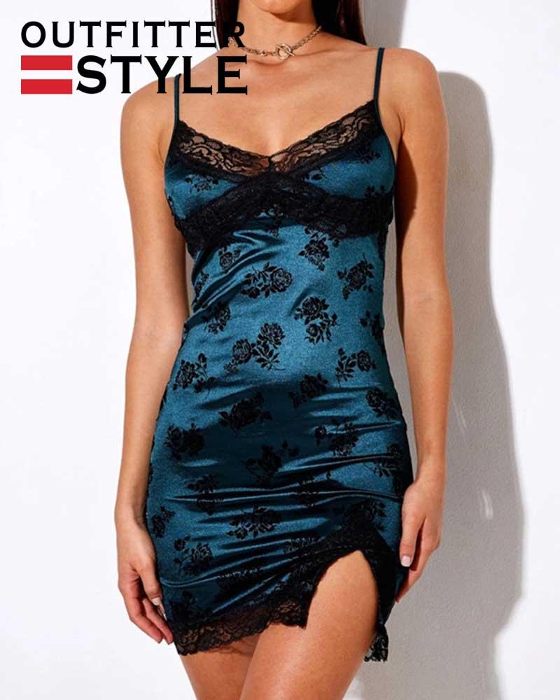 Party Dresses V-neck Trim