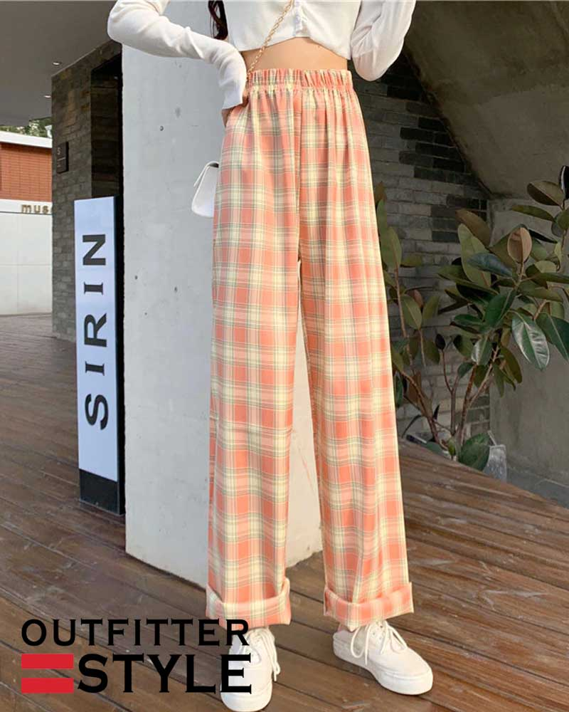 Plus Size Wide Pants Loose Oversized