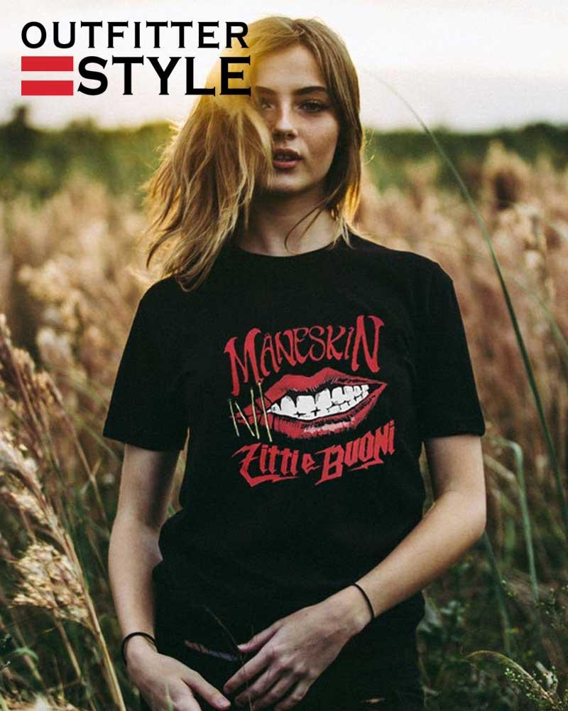 Rock Band Maneskin Shirt Maneskin