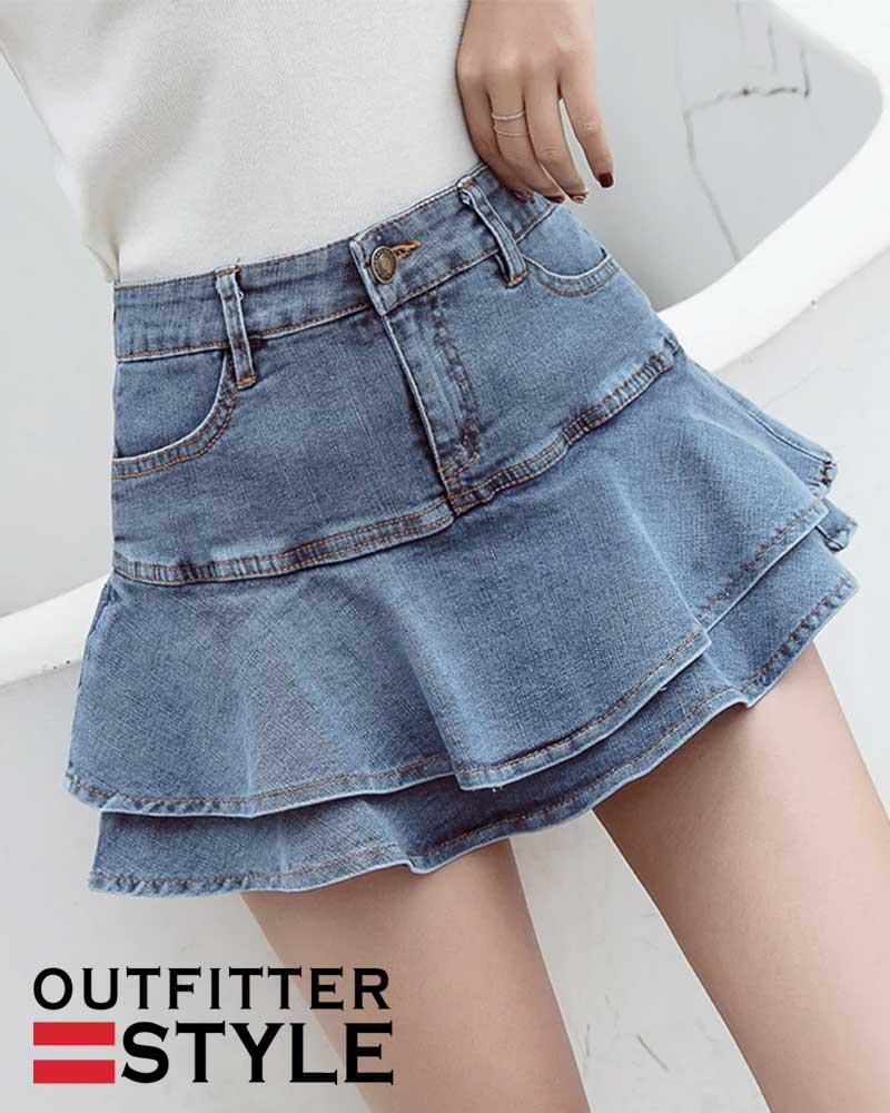Shorts Skirt Women Summer