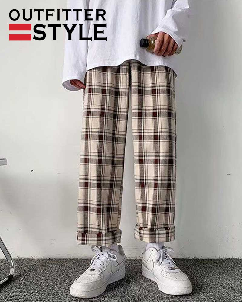 Streetwear Fashion Bottoms Summer Wide Leg Pants