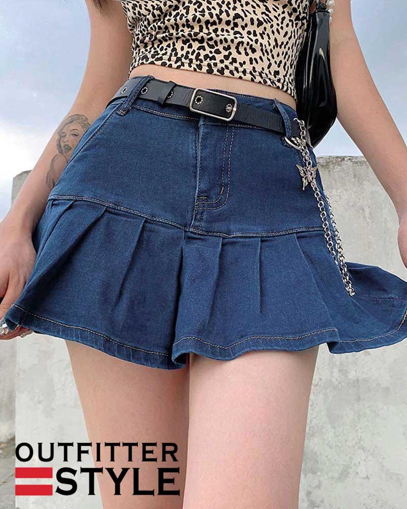 Summer High Waisted Jeans