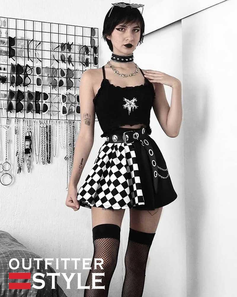 Summer Sexy Skirt Gothic Skirt
