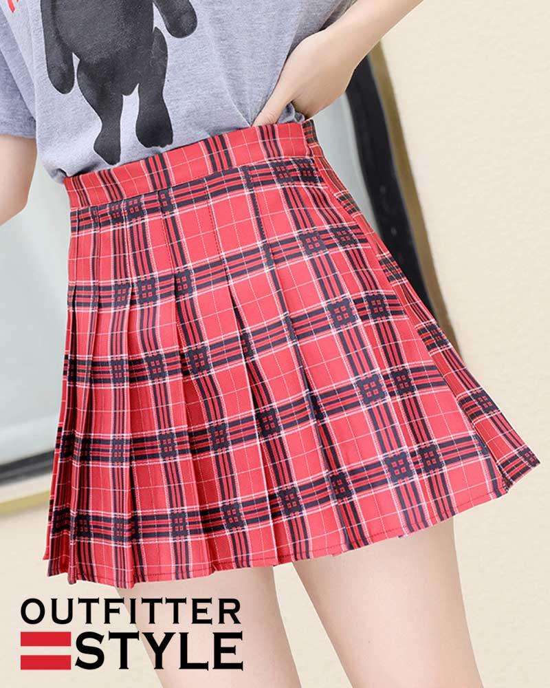 Sweet Girls Dance Mini Skirt