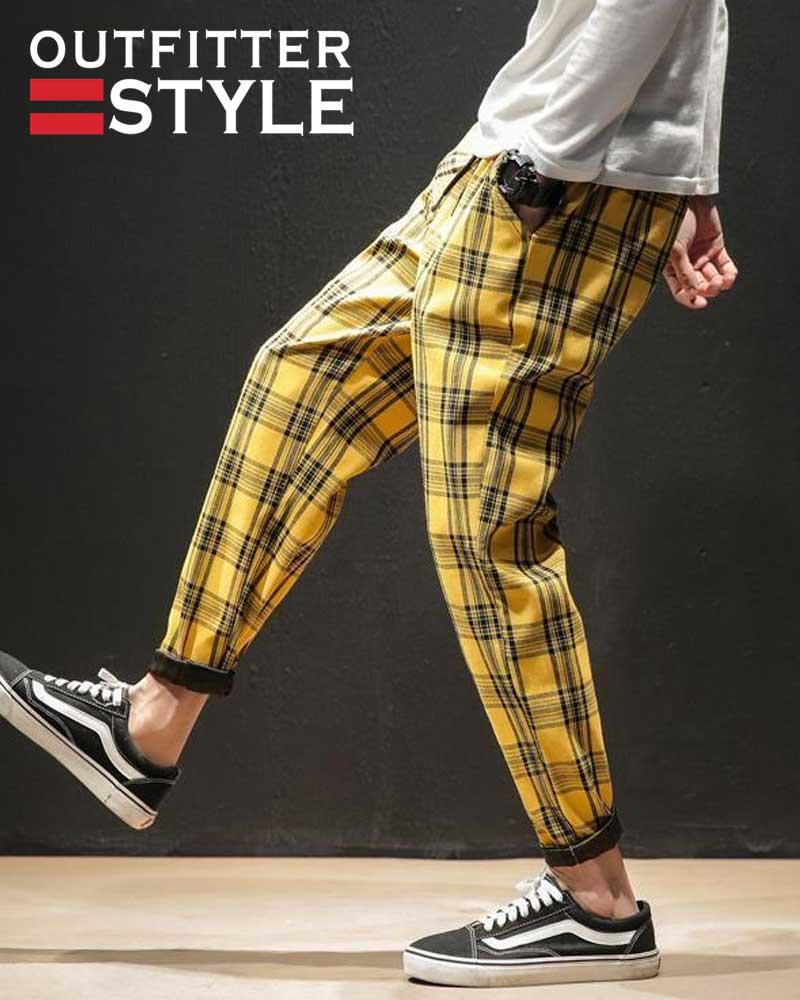 Trousers Korean Male Harem Pants