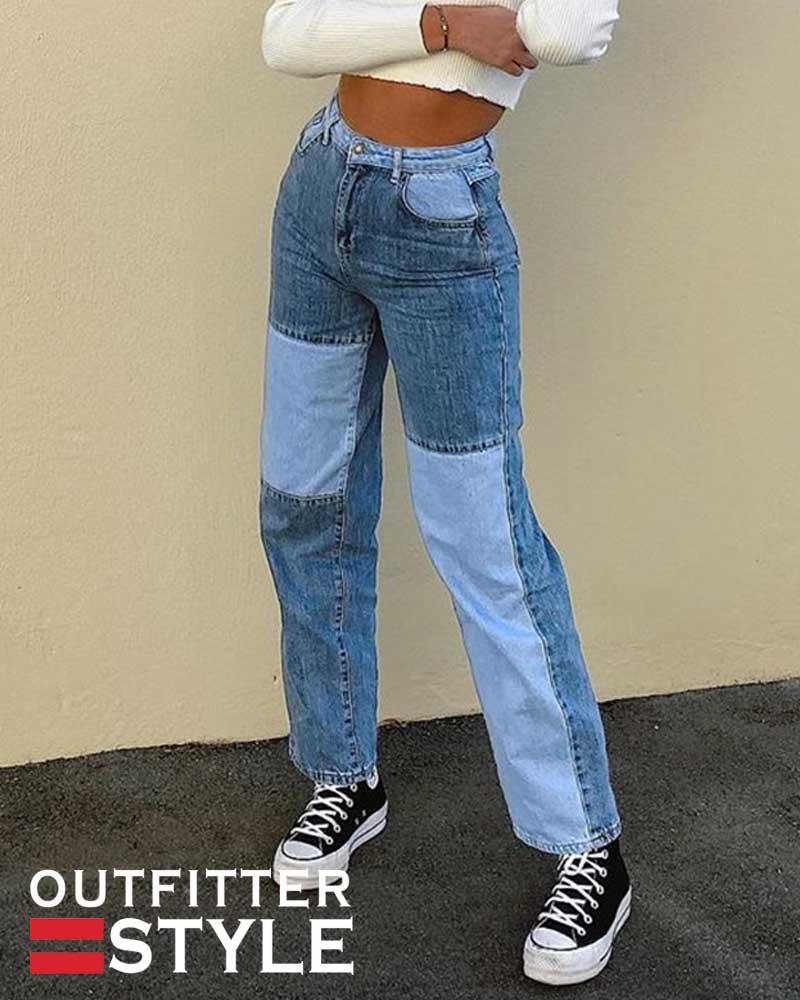 Vintage High Waist Pants