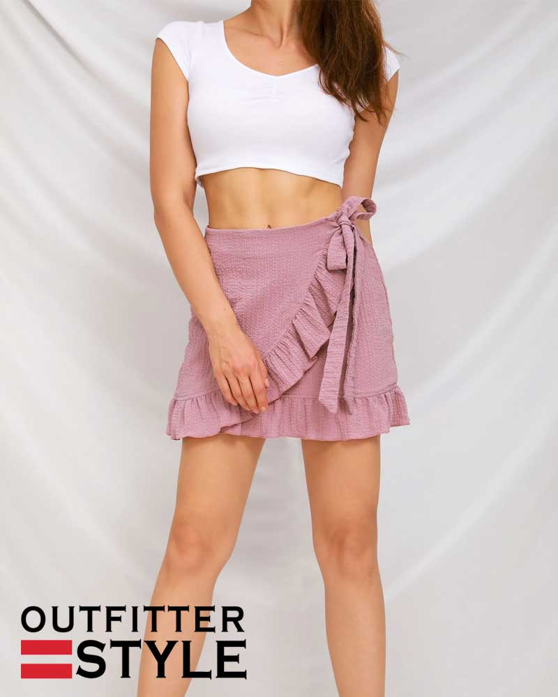pure color with zipper skirts bubble cloth