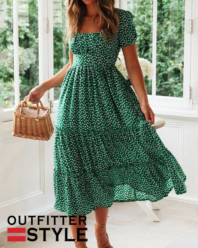 sweet dresses Casual Square