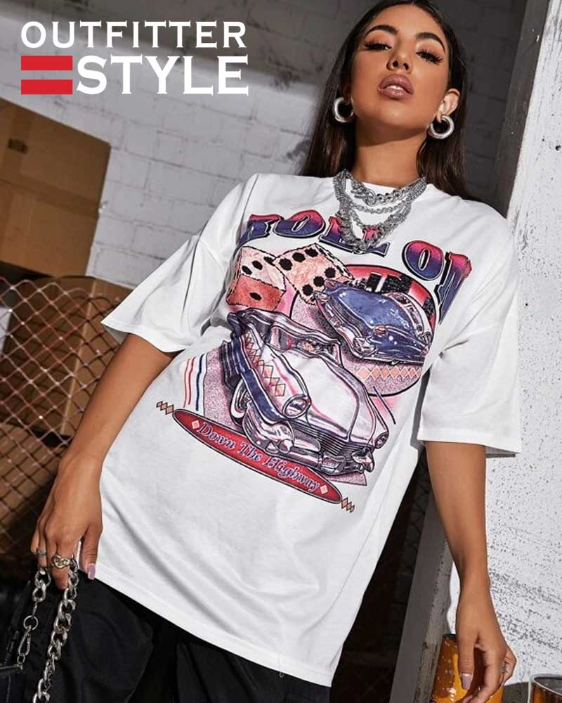 t-shirt Female aesthetic clothes