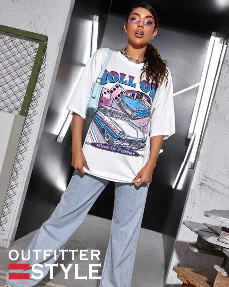top printed women's t shirt Short Sleeves Shirt